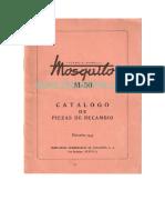 Mosquito M 50 Catalogo Piezas de Recambio 5997