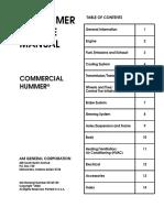 Hummer h1-Service Manual