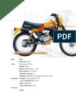 Puch Minicross TT (Características)