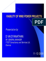 21. Economics and Environmental Aspects of Wind Power Projects - D. Vaidyanathan