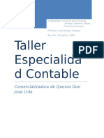 Informe Taller Especialidad Contable