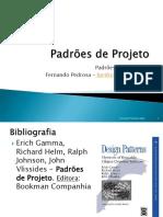 Padrões de Projeto - GoF