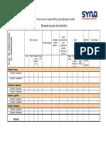 351. Fiche Outil - Exemple de Plan de Formation