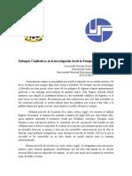 Enfoques Cualitativos en La Investigación Académica Dede La Eutopía.