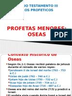 l. Profeticos - Oseas