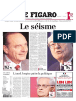 Figaro Election Presidentielle 2002