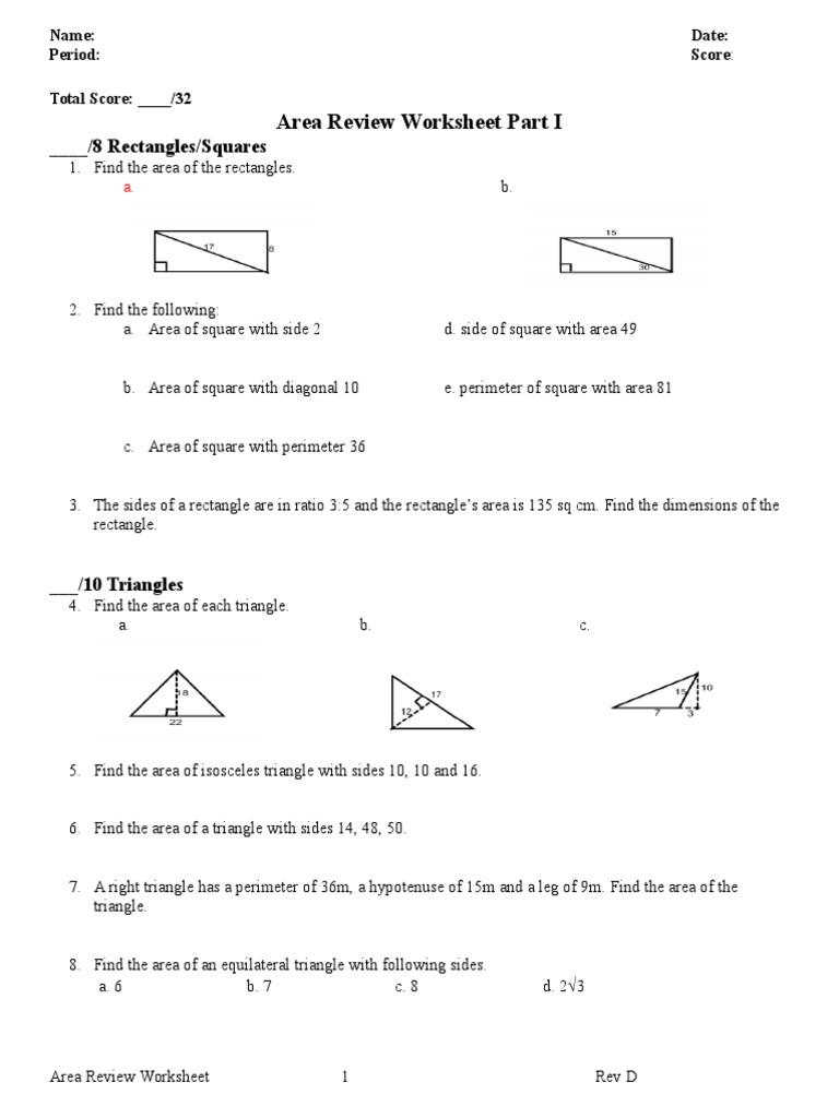 worksheet Area And Perimeter Of A Triangle Worksheet area and perimeter worksheets 5th grade ratio problems for 6th of triangle worksheet base ten 1511528540v1 worksheethtml gra
