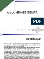 3. Gelombang Gempa