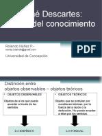 Clases Gnoseologia (Descartes)