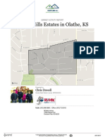 Real Estate Market Activity Report for  Amber Hills Estates in Olathe KS