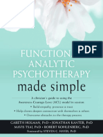 Functional analityc  psychotherapy