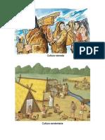 Culturas, Nomada, Sendentaria, Maya, Inca, Olmeca,Azteca, Imagenes