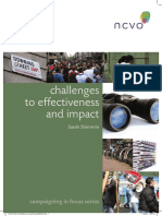 NCVO Challenges to Effectiveness and Impact PDF