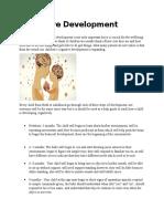 cognitive development1