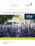 NCVO New Campaigning Landscape