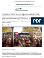 La Democracia Agredida _ Populismo,
