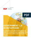 CSC Government 20 in Betaphase