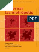 Libro Gobernar Las Metrópolis