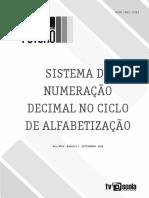 Sistemasdenumeracaodecimalnociclodealfabetizacao