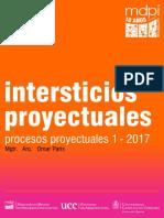 intersticios proyectuales - procesos proyectuales 1 2017