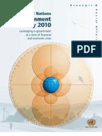 United Nations eGovernment Survey 2010