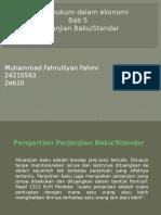 ppt bab 5 perjanjian baku/standar