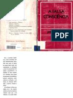 Joseph Gabel a Falsa Consciencia Guimaraes CIA Editores