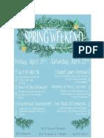 Spring Weekend - 2017 - Keuka College