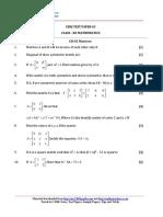 12 Mathematics Ch03 Matrices Test 03 Qp