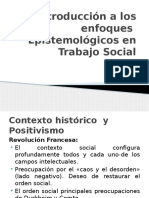 Enfoques Epistemológicos en Trabajo Social