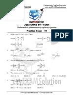 Mains Fundamental of Algebraic_Expression_paper-01