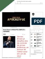 Derren Brown_ APOCALYPSE (Completo e Legendado)