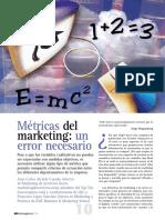 Metricas Del Marketing Un Error Necesario