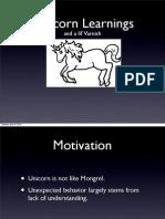 UnicornLearnings
