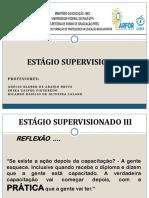 Estágio Supervisionado III - Planos de Ensino