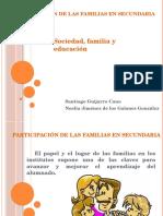 Participación de Las Familias en Secundaria