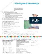 Child Start 2010-2011 Professional Development Membership Form
