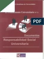 ASCUN 2011 Responsabilidad Social Universitaria
