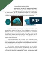 Batu Bacan Khas Maluku Utara