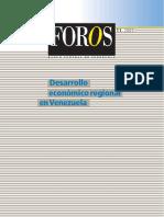 BVC 2005 Desarrollo Economico Regional en Venezuela