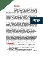 Fundamentación Proyecto Adoescente, DOCENTE