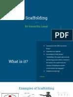 powerpoint presentation on scaffolding