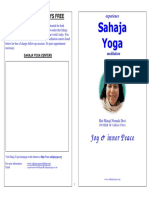 Sahaja Yoga Booklet - Volume 1