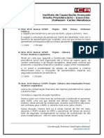 Direito Previdenciáro - Exercícios - Arquivo Unico