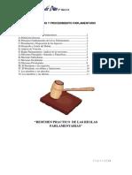 Reglas y Procedimiento Parlamentario