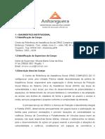 Relatório Institucional de Estagio supervisionado