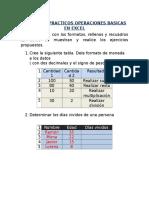 Ejercicios Practicos Operaciones Basicas en Excel