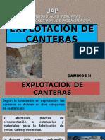 Clase 2 - Explotacion de Canteras