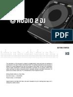 Audio 2 DJ Getting Started English