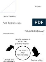Positioning and Branding Innovation